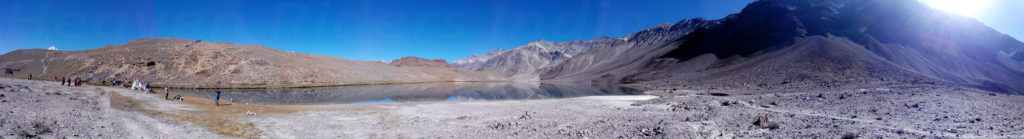 Panoramic View of Chandertal Lake