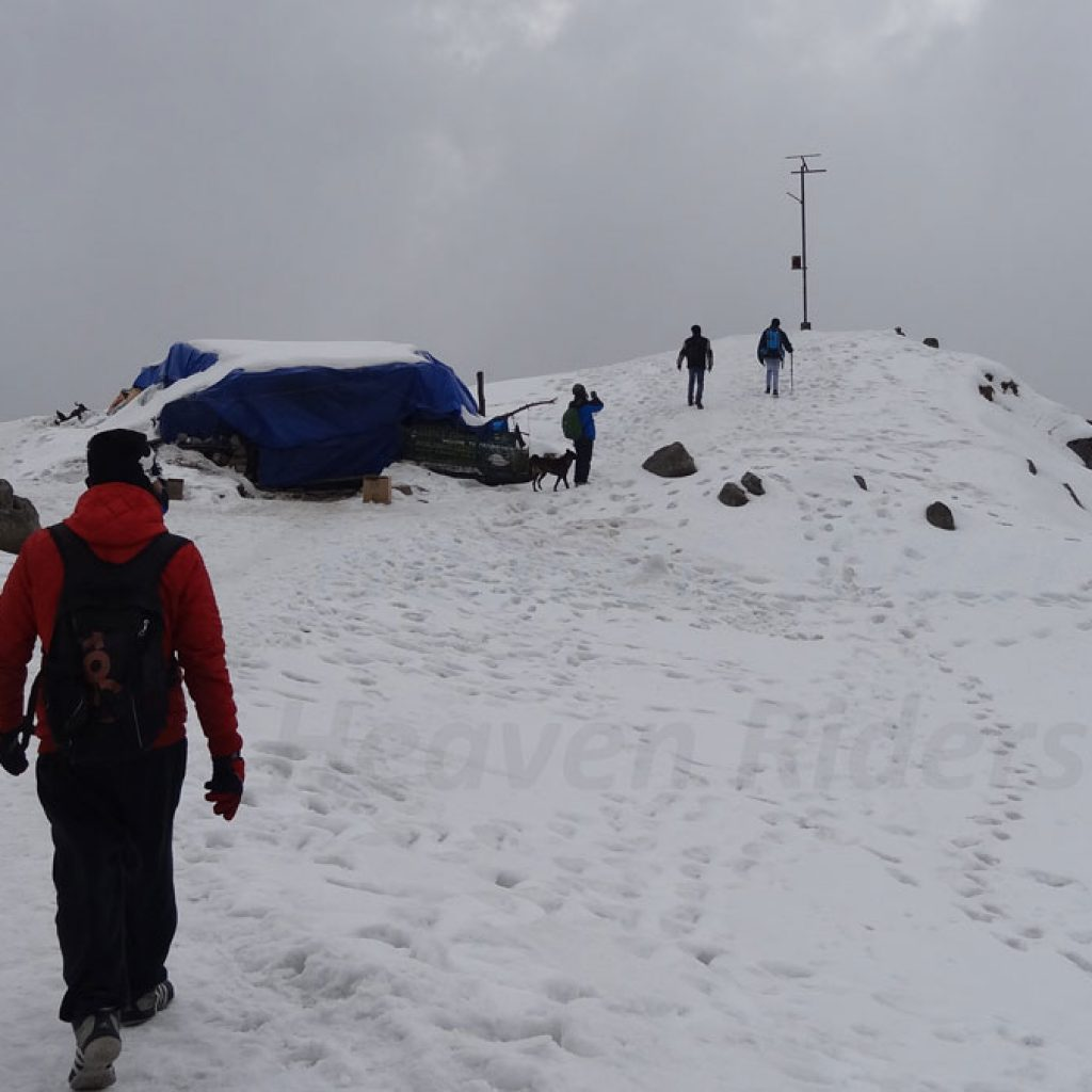 Triund during winters