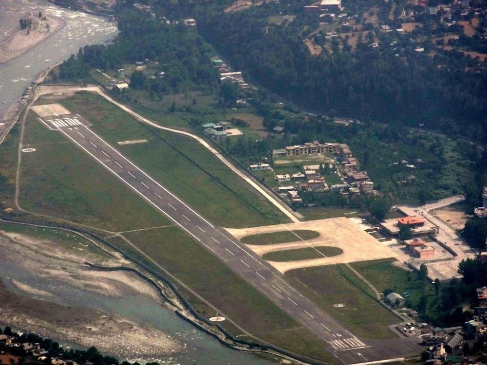 Flights between Shimla, Kullu - Manali, Dharamshala and Chandigarh