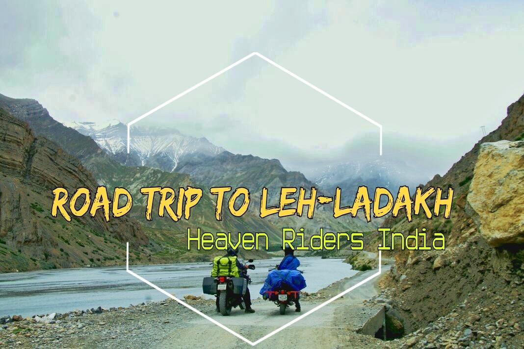Riders En-Route, Roadtrip to Leh-Ladakh with Heaven Riders India