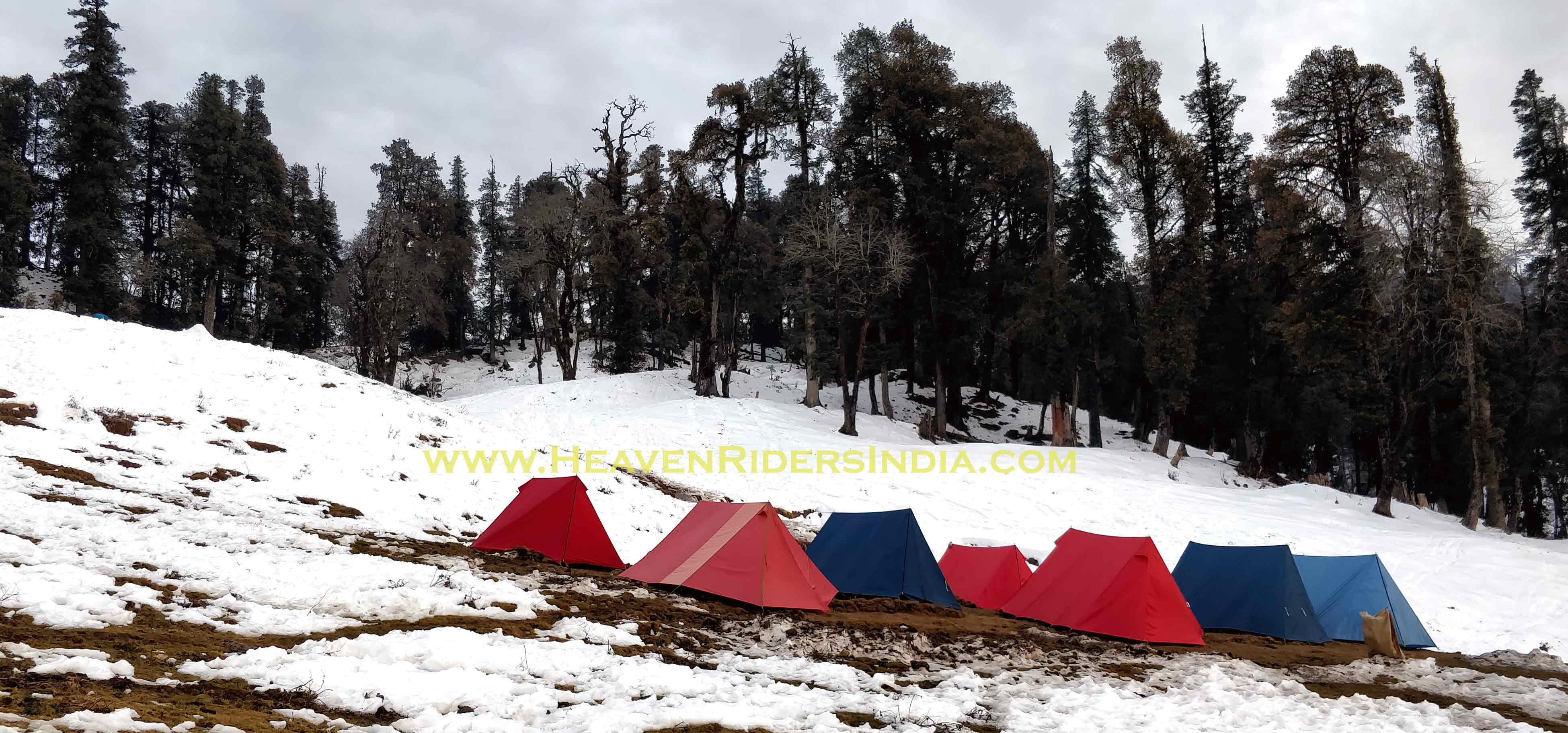 Kedarkantha Trek Base Camp