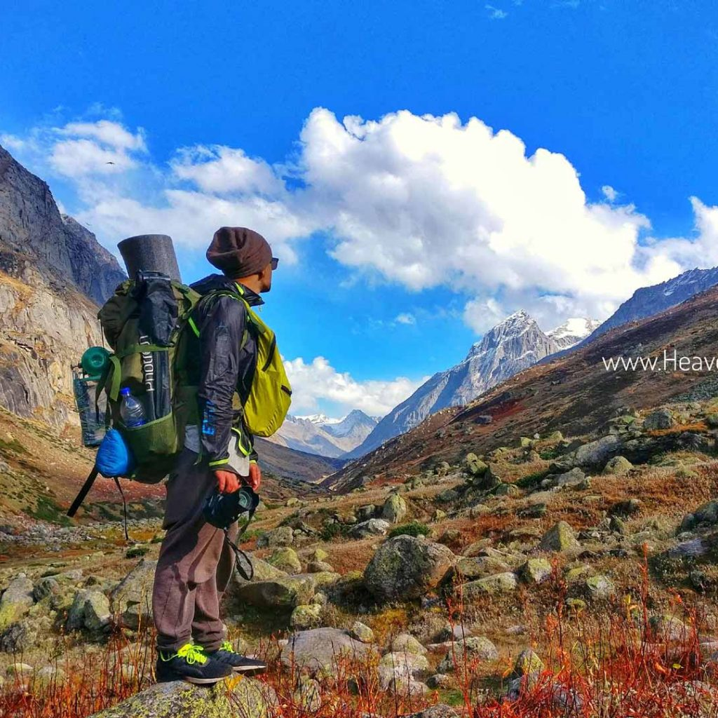 Top five treks in Manali to do in 2020. Pin Parvati pass trek with Heaven Riders India