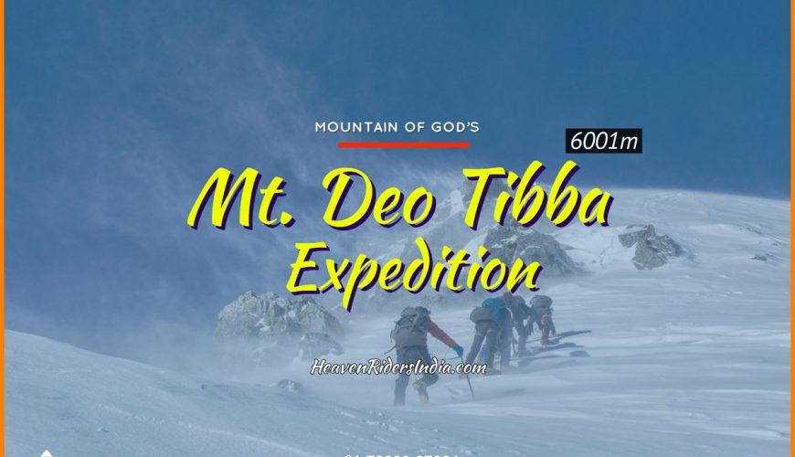 Mt Deo Tibba Expedition trek
