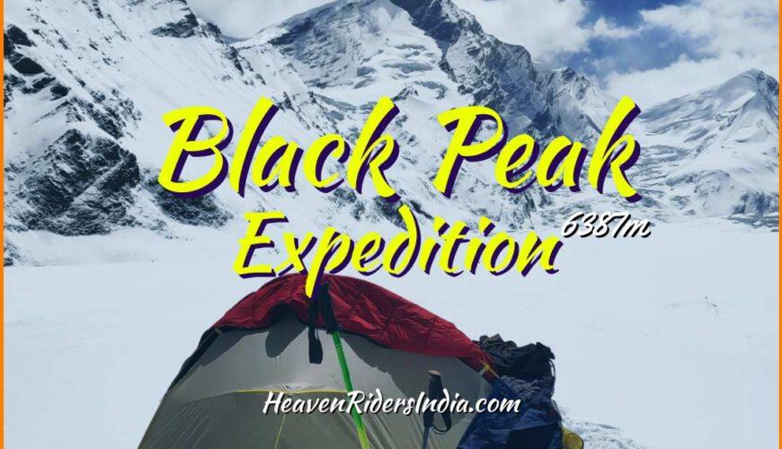 Black Peak Expedition Trek