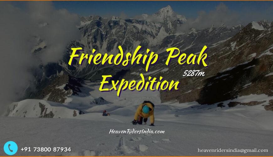 Friendship Peak Expedition