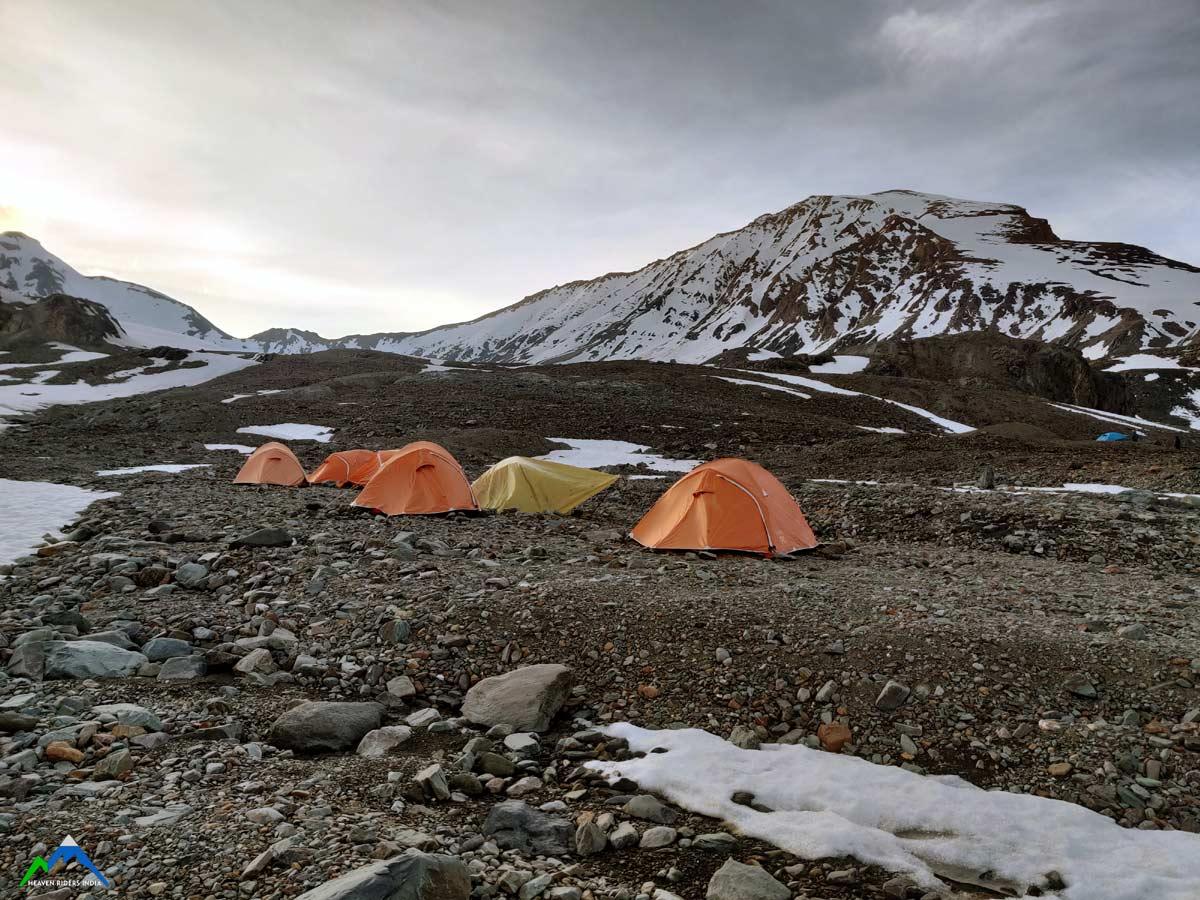 Day 4: Establish Summit Camp | 5250m