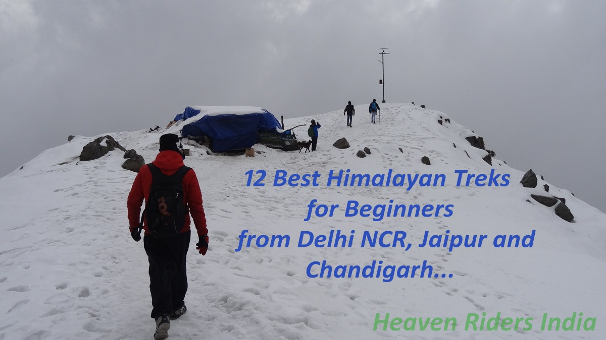 12 Best Himalayan Treks for Beginners from delhi NCR, Jaipur and Chandigarh